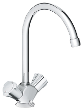 Costa L Two-handle sink mixer 31812 001