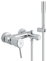 Concetto Single-lever bath mixer 1/2
