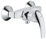 GROHE BauCurve Single-lever shower mixer 1/2