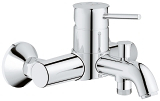 GROHE BauClassic Single-lever bath/shower mixer 32865 000