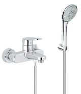 Europlus Single-lever bath/shower mixer 1/2