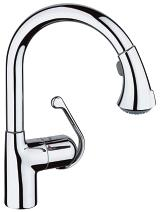 Ladylux Plus Single-Handle Kitchen Faucet 33758 000