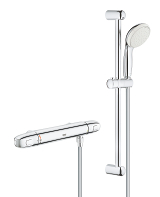 Grohtherm 1000 New Thermostatic shower mixer 1/2