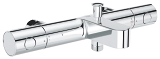 Grohtherm 1000 Cosmopolitan M Thermostatic bath/shower mixer 1/2