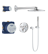Grohtherm SmartControl Perfect shower set with Rainshower SmartActive 310 34705 000