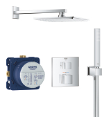 Grohtherm Cube Perfect shower set with Rainshower Allure 230 34741 000