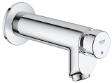 Euroeco Cosmopolitan T Self-closing pillar tap 1/2