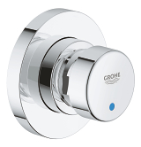 Euroeco Cosmopolitan T Self-closing shower valve 1/2