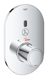 Eurosmart Cosmopolitan E Special Infra-red electronic for concealed shower thermostat 36456 000