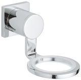 Allure Glass/soap dish holder 40278 000