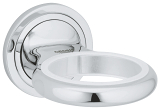 Veris Glass/soap dish holder 40376 000