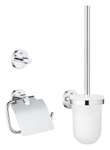 Essentials Set accessori bagno 3-in-1 40407 001
