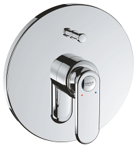 Veris Single-lever bath mixer 19344000