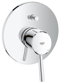 Concetto Single-lever bath/shower mixer trim 19346001