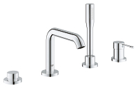 Essence Four-Hole Bathtub Faucet with Handshower 1957800A