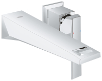 Allure Brilliant Two-Hole Wall Mount Bathroom Faucet M-Size 19784000