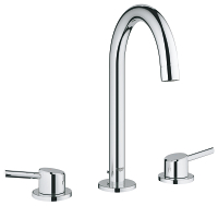 "Concetto Three-hole basin mixer 1/2"" L-Size 20216001"