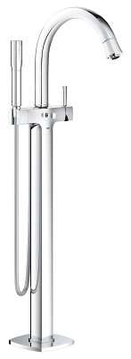 "Grandera Single-lever bath mixer 1/2"", floor mounted 23318000"