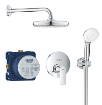 Eurocosmo Perfect shower set with Tempesta 210 25219001