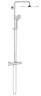 Euphoria XXL System 310 Shower system with thermostatic mixer for wall mounting 26075000