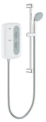 New Tempesta 100 Pressure stabilized electric shower 8.5kW 26178000