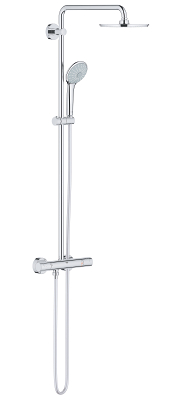 Euphoria System 210 Shower system with Safety Mixer for wall mounting 26383000