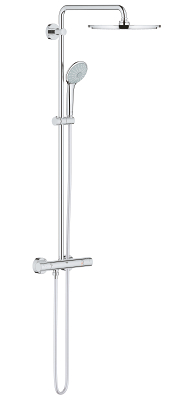 Euphoria System 310 Shower system with safety mixer for wall mounting 26384000