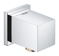 "Euphoria Cube Shower Wall Union, 1/2"" 26634000"