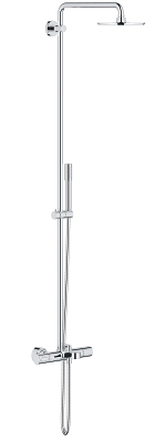 Rainshower System 210 Shower system with bath safety mixer for wall mounting 27641000