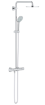 Euphoria XXL System 210 Shower system with thermostat for wall mounting 26383000