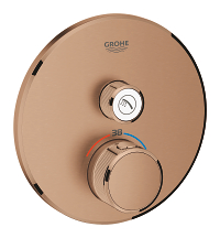 Grohtherm SmartControl Thermostat for concealed installation with one valve 29118DL0