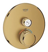 Grohtherm SmartControl Thermostat for concealed installation with one valve 29118GN0
