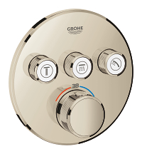 Grohtherm SmartControl Thermostat for concealed installation with 3 valves 29121BE0