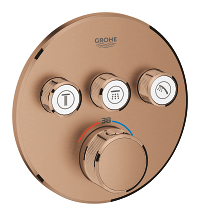 Grohtherm SmartControl Thermostat for concealed installation with 3 valves 29121DL0