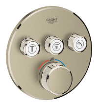 Grohtherm SmartControl Thermostat for concealed installation with 3 valves 29121EN0