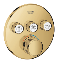 Grohtherm SmartControl Thermostat for concealed installation with 3 valves 29121GL0