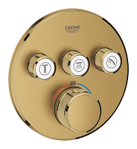 Grohtherm SmartControl Thermostat for concealed installation with 3 valves 29121GN0