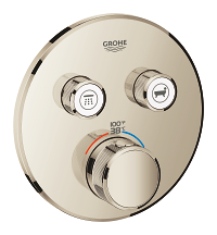 Grohtherm SmartControl Dual Function Thermostatic Trim with Control Module 29137BE0
