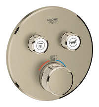 Grohtherm SmartControl Dual Function Thermostatic Trim with Control Module 29137EN0