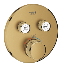 Grohtherm SmartControl Dual Function Thermostatic Trim with Control Module 29137GN0