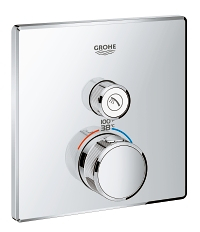 Grohtherm SmartControl Single Function Thermostatic Trim with Control Module 29140000
