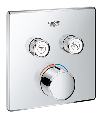 SmartControl Concealed mixer with 2 valves 29148000