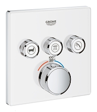 Grohtherm SmartControl Triple Function Thermostatic Trim with Control Module 29165LS0