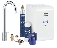 GROHE Blue Mono Chilled and Sparkling Starter kit 31302001