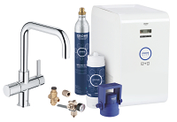 GROHE Blue® Chilled & Sparkling Kit de démarrage 31324001