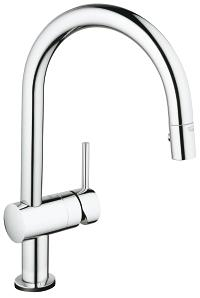 Minta Touch Pull-Down kitchen faucet with touch technology 31359000