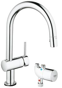 Minta Touch Pull-Down kitchen faucet with touch technology 31392000