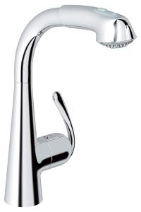 Ladylux3 Plus Single-Handle Kitchen Faucet 33893000