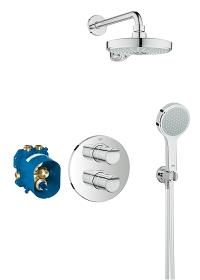 Grohtherm 2000 Perfect shower set with Power&Soul Cosmopolitan 190 34283001