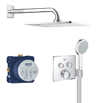 Grohtherm SmartControl Perfect shower set 34742000